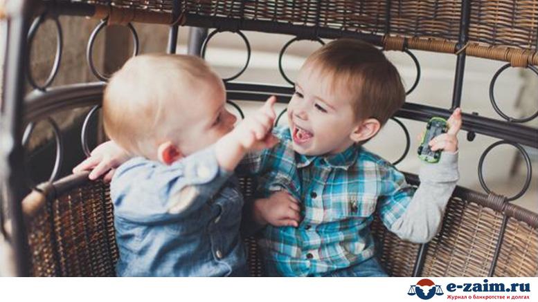 Пример заявления на алименты на двоих детей