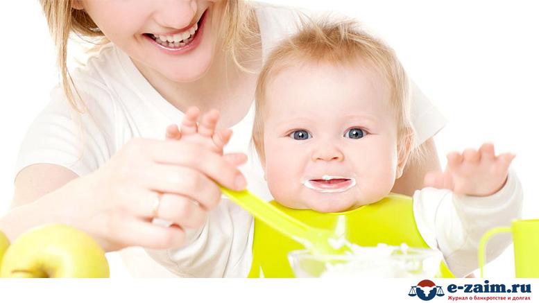 Какой размер алиментов на содержание жены с ребенком до 3 лет