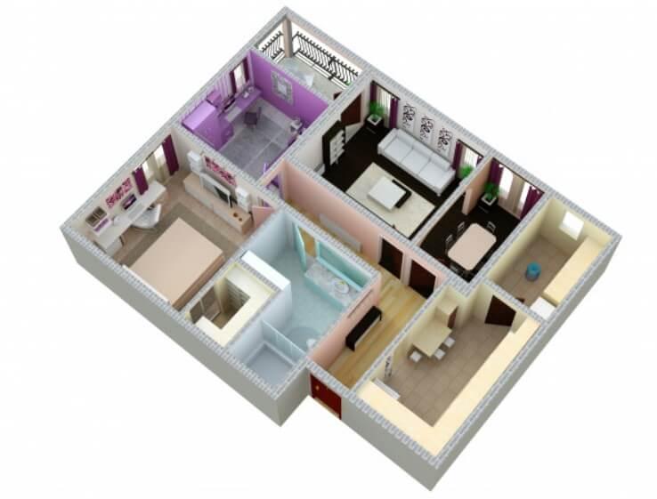 Комната и доля